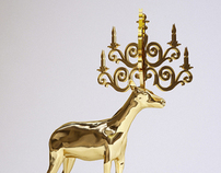 Stag Lamp