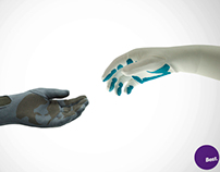 Sensitive Touch –intelligent gloves for prosthetic arms