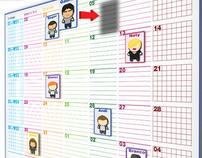 Calendário VM