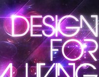 Design For A Living Poster and iPhone Skin