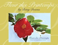Fleur des Printemps Note Cards