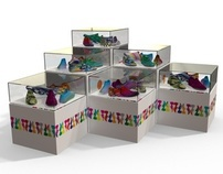 Shoe Parade Displays