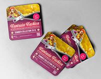 Fashion Coaster - Drink Pad Template