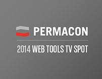 Permacon - 2014 TV spot new web tools