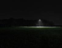 Reconfort d'une lumière dans l'obscurité