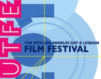 Outfest Film Festival Key Art for 2010