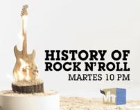 "HISTORY OF ROCK N´ROLL ""TRONCO"""