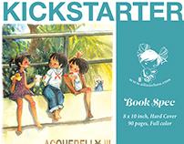 Kickstarter - Acquerello III art  book