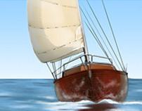 14m sailer interior