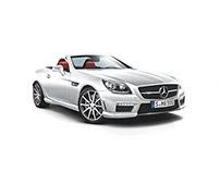 Mercedes iPad app