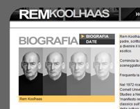 Tribute to Rem Koolhaas - Website