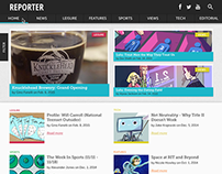 Reporter Website Redesign
