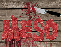 Go Vegan - Meat is murder, poster project