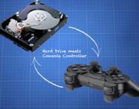 Console Hard Drive Controller [IDEA]