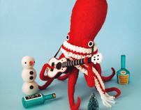 Dress-Up Squid & Octopus