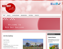 Red Dot Gallery Website