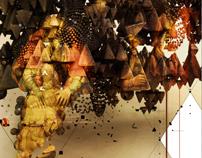 Art Remix: Famous Paintings as Digital Art