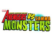 The Avengers Vs. Gamma Monsters