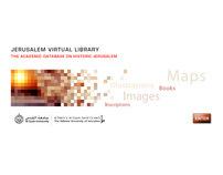 Jerusalem Virtual Library