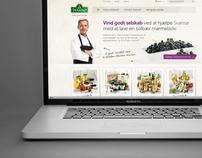Svansø, web design