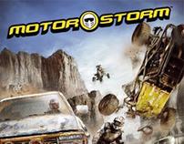 Motorstorm User Interface