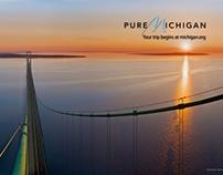 Michigan's Mackinac Bridge Then and Now Series - 2010