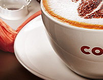 One day in Costa Coffee