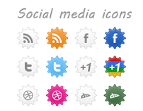 Mine Social Media Icons