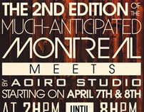 Montreal Meets 2 Poster