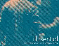 The ILLZ LP & Release poster design