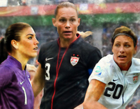 ussoccer.com homepage Women's World Cup Final