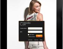 Enmoda iPad Application - UI & UX Design