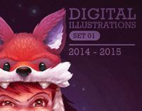 Digital Illustrations 2014/15