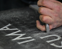 Digital Alphabet in Stone