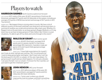 College basketball preview pages