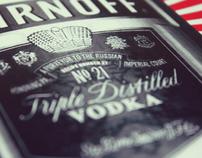 Smirnoff Vodka - Poster