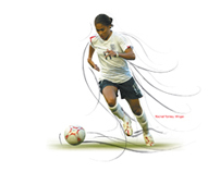 Women's Football Association - Euro 2005 Ad Campaign