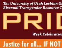 Pride Week Promotion Posters