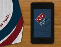 Student Work: Domino's Pizza app Advertising