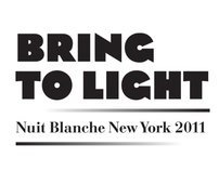 Bring to Light, Nuit Blanche New York, Identity Design