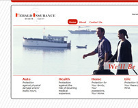 Herald Insurance Website Design