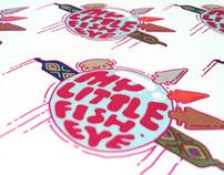 MyLittleFisheye illustrative logotype