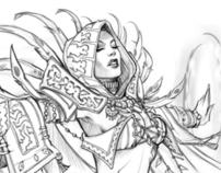 Concept Art / Costume Designs