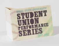 Student Union Performance Series Mailer