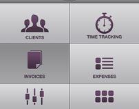 FreshBooks iPhone App Concept Design