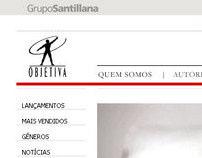 Site da Editora Objetiva