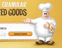 Kneadabaker - baking company website