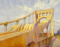 Kenneth Slevin Fine Art Watercolor Portfolio.