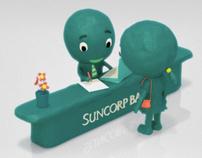 Suncorp /// CGI Claymation