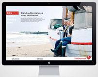 Visit Denmark branding page